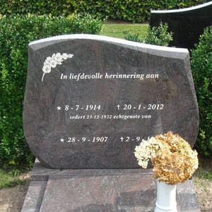 enkele grafmonumenten