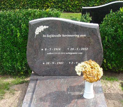 grafsteen Hoogeveen