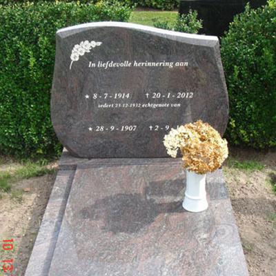 natuursteen grafmonument